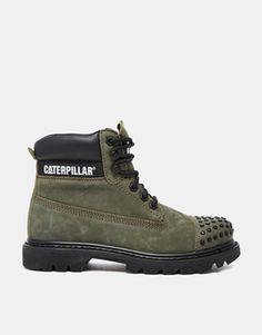 I'm obsessed with my all-black Cat boots but I'm defo thinking of adding these khaki studded beauties to my collection. http://asos.do/2OrndL