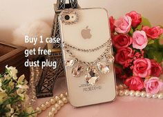 Sale Cute Kawaii Luxury Bling Rhinestones drop by YYwholesale, $7.00