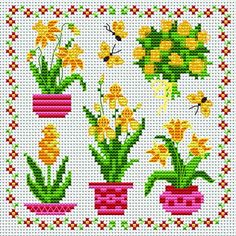 my craft notebook : cross stitch Cross Stitch Boards, Mini Cross Stitch, Simple Cross Stitch, Cross Stitch Rose, Cross Stitch Flowers, Cross Stitching, Cross Stitch Embroidery, Embroidery Patterns, Cross Stitch Designs