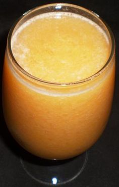 Cantaloupe, Peach and Pineapple Smoothie from Food.com:   I tweaked this recipe slightly & found it in the 2003 cookbook, Slim Smoothies.