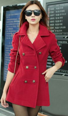 Cheap outerwear womens, Buy Quality coat fashion directly from China fashion coat Suppliers: 2017 winter coat long Style Slim ladies wool coat female Double Breast thick Warm Coats Outerwear fashion women Overcoat Winter Jackets Women, Coats For Women, Clothes For Women, Long Winter Coats, Style Classique, Cashmere Coat, Look Fashion, Fashion Women, Fashion 2018