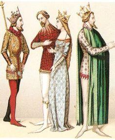 idade media romanica roupas - Pesquisa Google