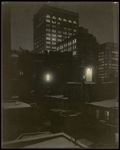 Alfred Stieglitz | From the Back Window – 291 | The Met