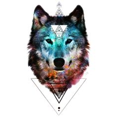 Sacred Wolf is a Sticker designed by shannontoohey to illustrate your life and is available at Design By Humans
