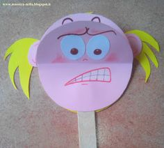emozioni-6 Paper Plate Crafts For Kids, Paper Crafts For Kids, Preschool Education, Art Education, Yoga For Kids, Art For Kids, Eyfs Activities, English Lessons For Kids, Teaching Techniques