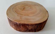 Rustic Wood Slice/ Cake Stand-Medium/ Wedding  | eBay