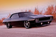 Check out this 1969 Chevy Camaro all tricked out an ready for the streets.  Add this to the car collection.