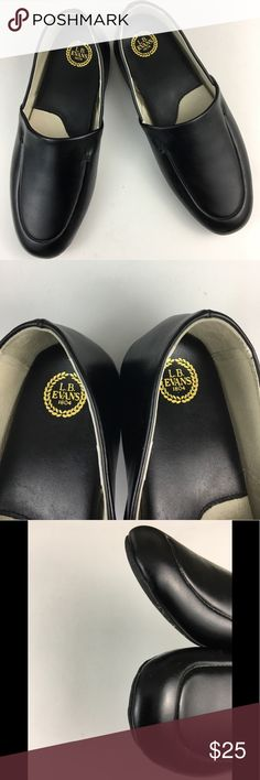 🆕 LB EVANS Men's Black Leather Size 12 Slippers LB EVANS Men's Black Leather Slippers/House/Lounge Shoes   Size 12M  In excellent condition  Items ship Same or Next Day  Inv F5 LB EVANS Shoes Loafers & Slip-Ons