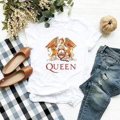 Queen T-shirt Freddie Mercury Bohemian Rhapsody Queen Band T-shirt Queen Sweatshirt - French Shirt - Ideas of French Shirt - Queen T-shirt Freddie Mercury Bohemian Rhapsody Queen Band T-shirt Queen Sweatshirt Freddie Mercury, Queen Banda, Queen Freddie, Queen Outfit, Rock T Shirts, Sweatshirts, My Style, How To Wear, Clothes