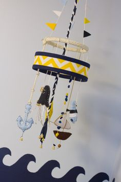 Nautical mobile - #nursery #mobile #nurserydecor