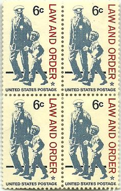 USA, 6 cent, Law and Order