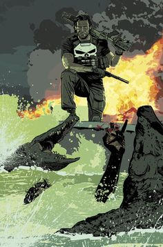 Punisher by Mitch Gerads *