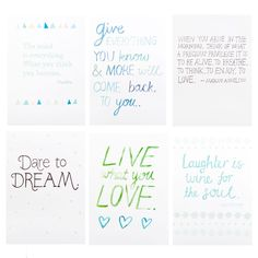 Quote Cards 12pk: Inspire