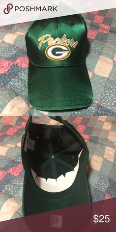 17abac02d89 Green Bay Packers Ballcap  Fancy  style Green Bay packers hat. Little bit of