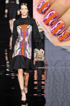 Etro Fall 2012 Nails