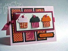Stampin Up - create a cupcake