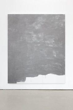 Gardar Eide Einarsson Stainless Steel (Fine) X 2011 Acrylic paint on canvas / Wooden stretcher
