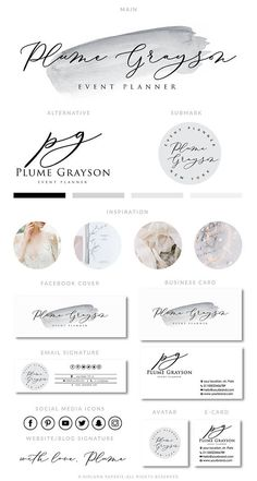 67 Ideas Photography Logo Fine Art For 2019 Photography Packaging, Photography Logos, Fashion Photography, Logo Branding, Branding Design, Logo Design, Boutique Logo, Watercolor Logo, Web Design