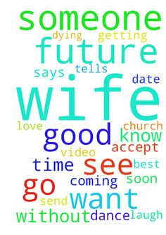 Father I am lonely -  Father please introduce me to my future wife. Please allow me to get to know her. Valentines day is coming up soon, and I dont want to be without a date this time. Someone besides my mother or sister this time. I want to meet my futures wife, and start getting to know her. Father I need this. I need to see her, I am dying without her. Father I need a helpmate. Your word says it is not good for man to be alone. Honor that Father. Father dont let me to mad waiting. I…
