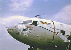 """""""Bouncing Bertha"""" of Elephant Airways, Naval Support Activity's C117D."""