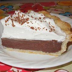 Chocolate Cream Pie II - Allrecipes.com