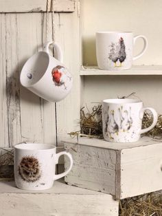Royal Worcester for Wrendale designs 'Country Set'