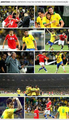 Vaiado, Brasil empata com o Chile e ouve 'olé' da torcida no novo Mineirão Neymar faz gol, mas é chamado mais uma vez de pipoqueiro. Estádio também tem problemas a serem resolvidos. Em 24/04/2013.