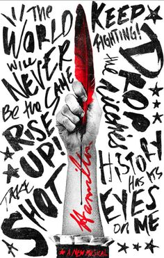 Official 'Hamilton' posters that didn't make the cut - Pop Culture Brain