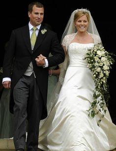 Autumn Kelly's Wedding Dress, married Princess Anne's son