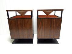 Vintage Speakers Zenith Circle of Sound Retro Stereo Speakers. $125.00, via Etsy.
