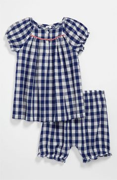Baby Blouse and Bloomers
