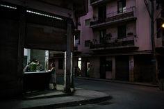 Jerome Sessini CUBA. La Havana. January 6, 2008. Downtown Havana. Rationing store.