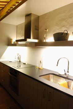 Led lights to decorate your kitchen.