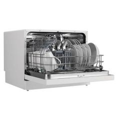 Danby, Countertop Dishwasher in White, DDW611WLED at The Home Depot ...