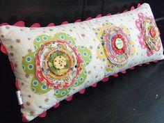 Shabby Chic Flower Pillow Tutorial