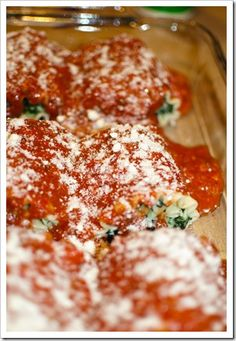 Spinach & Mozzarella Lasagna Roll Ups    Tried this for dinner and it was yummy!!  I have a big family and so I doubled the recipe and had it with some french bread and salad.