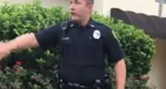 WATCH: Florida cop makes up law to ticket black man for walking without identification