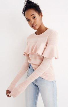 Apiece Apart™ Ruffled Sweater