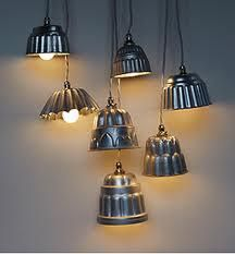 mini bundt cake pendant lights