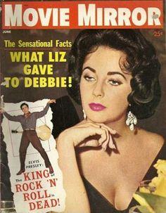 Elizabeth Taylor - Movie Mirror Magazine [United States] (June 1960)