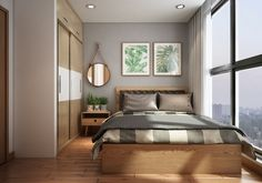 40 Small Cozy Apartment Design With Asian And Scandinavian Influences Ideas - Page 6 of 18 Condo Interior Design, Modern Apartment Design, Condo Design, Small Cozy Apartment, Small Apartment Decorating, Apartment Bedroom Decor, Modern Bedroom Decor, Asian Home Decor, Living Room Remodel