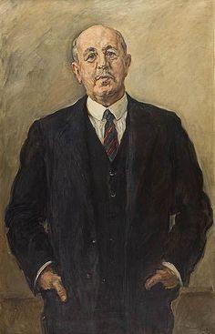 Max Slevogt - Bildnis Max von Wassermann (1928)
