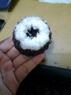 The named is putu mayang cake.. its made from black rice sticky...