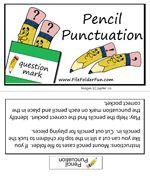 Pencil Punctuation (around 3rd grade level)