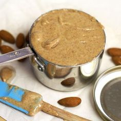 DIY Almond Butter recipe.