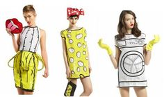pop art dresses by the Rodnik band