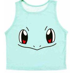 Pokemon Crop T-Shirt