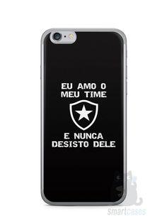 Capa Iphone 6/S Time Botafogo #3 - SmartCases - Acessórios para celulares e tablets :)
