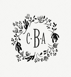 Logo Designs - Wedding Monograms - Wedding Card Logos