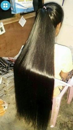 Long Ponytail Hairstyles, Long Hair Ponytail, Indian Long Hair Braid, Braids For Long Hair, Long Hair Cuts, Pretty Hairstyles, Long Hair Styles, Super Long Hair, Big Hair